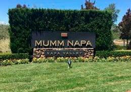 Stop at Mumm Napa sparkling wines