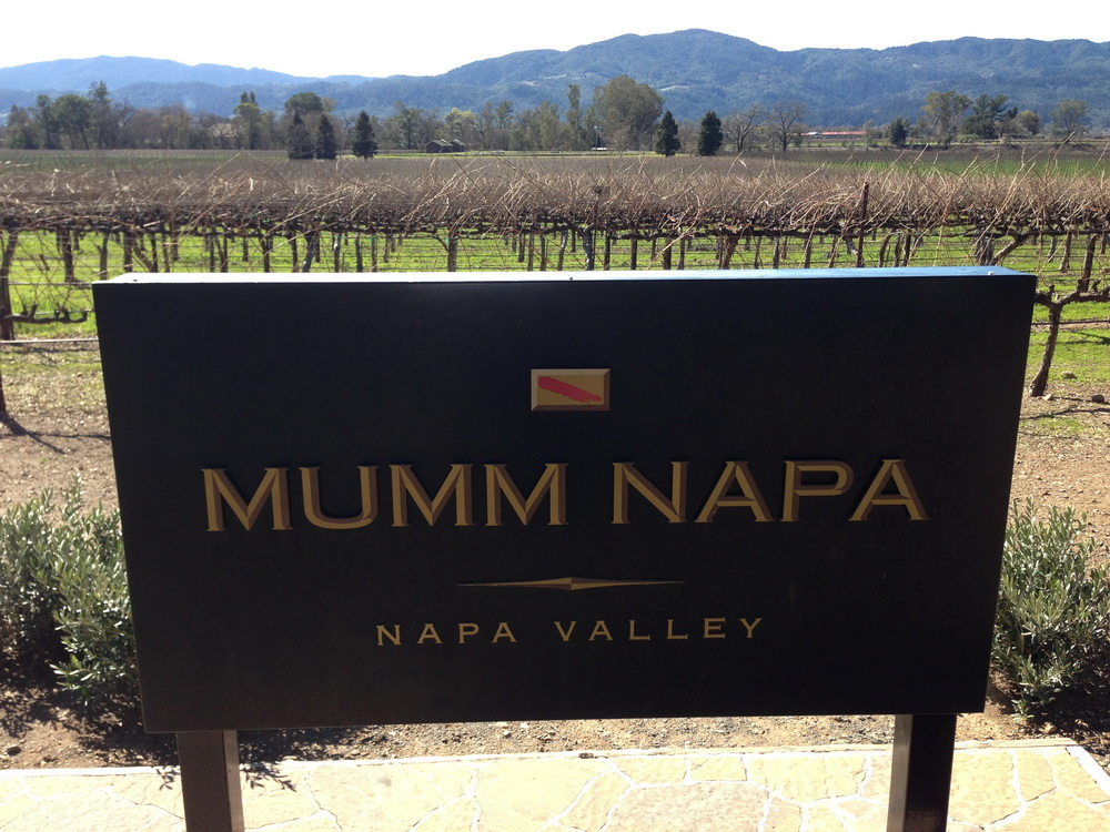 Mumm Napa is a beautiful estate located in Rutherford the beating heart of the beautiful Napa Valley